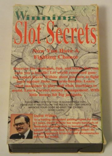 Winning Slot Secrets Now You Have a Fighting Chance VHS Back