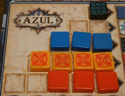 Moving Tiles to Wall in Azul