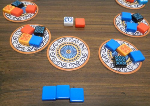 Grab Tiles From Factory Display in Azul