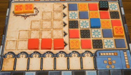 Acquired Tiles in Azul