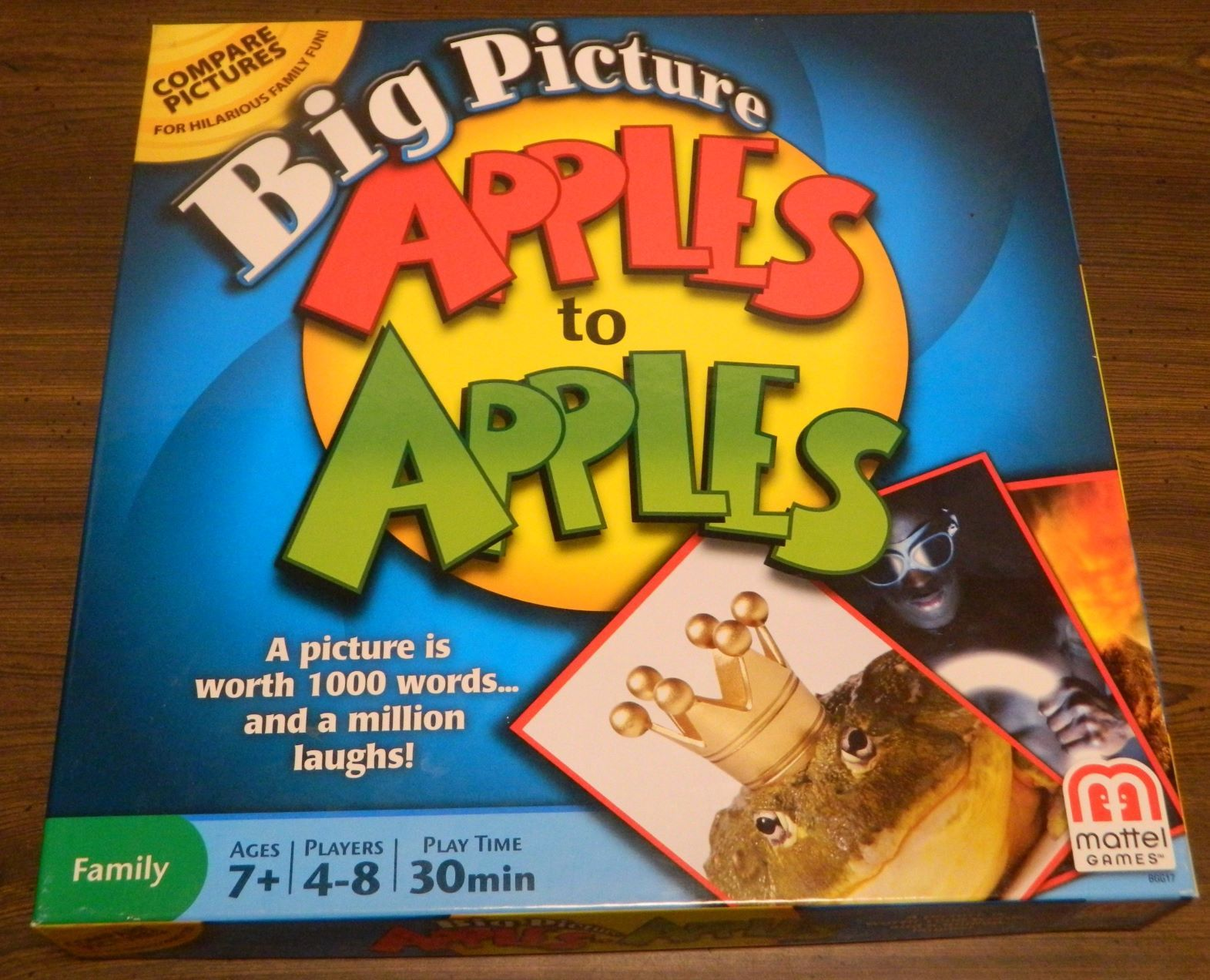 Box for Big Pictures Apples to Apples