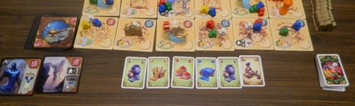 Clean Up in Five Tribes