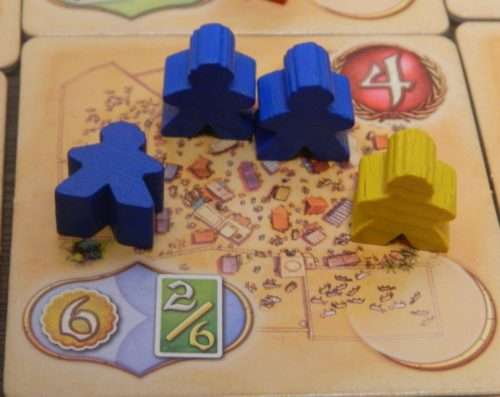 Last Tile in Five Tribes