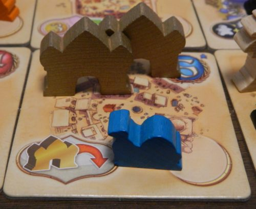 Scoring in Five Tribes