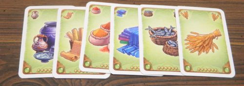 Selling Merchandise Cards in Five Tribes