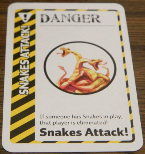 Danger Card in Jumanji Fluxx