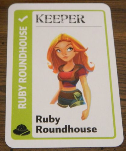 Keeper Card in Jumanji Fluxx
