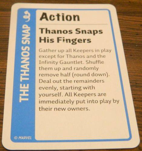 Action Card in Marvel Fluxx