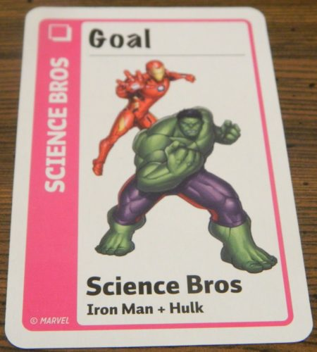 Goal Card in Marvel Fluxx