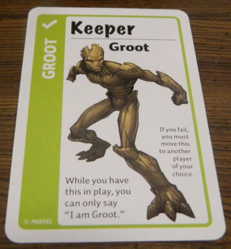 Keeper Card in Marvel Fluxx