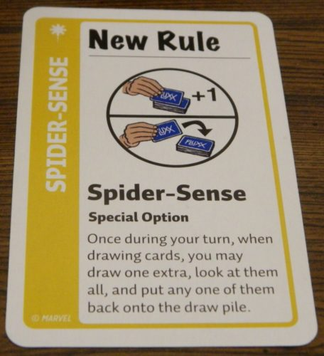 New Rule Card in Marvel Fluxx