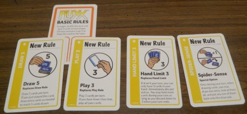 New Rules Example in Marvel Fluxx