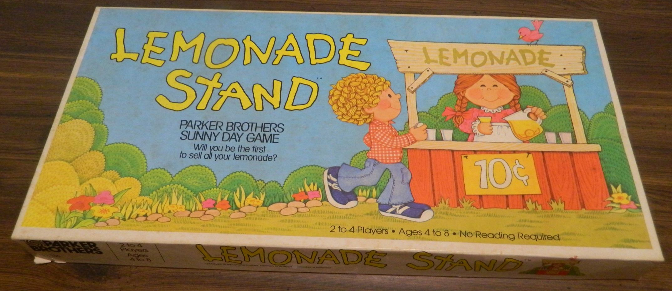 Box for Lemonade Stand