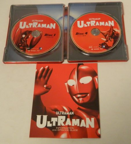Ultraman The Complete Series SteelBook Edition Blu-ray Packaging