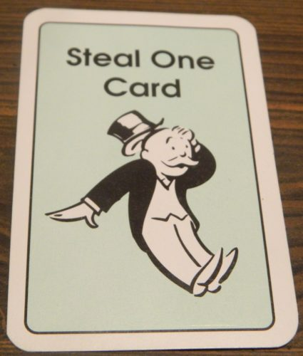 Steal One Card in Express Monopoly Card Game