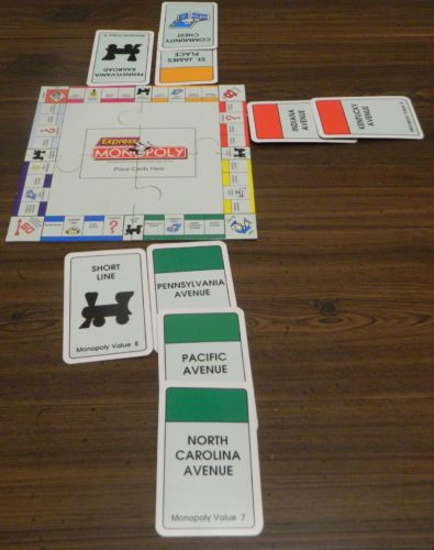 Take Community Chest Card in Express Monopoly Card Game
