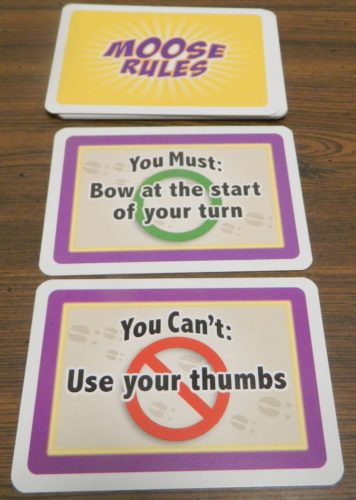 Rules Cards in Moose Master