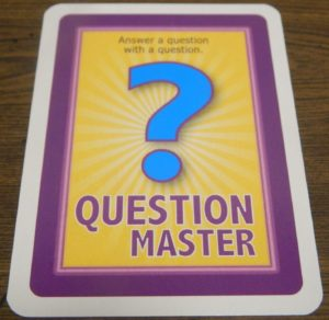 Question Master Card in Moose Master