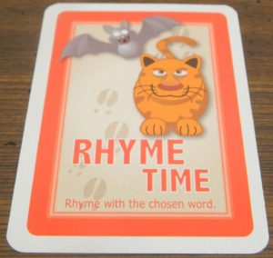 Rhyme Time Card in Moose Master
