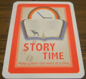 Story Time Card in Moose Master
