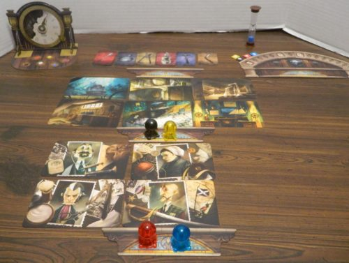 End of Round in Mysterium