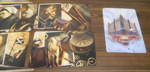 Playing Vision Card in Mysterium