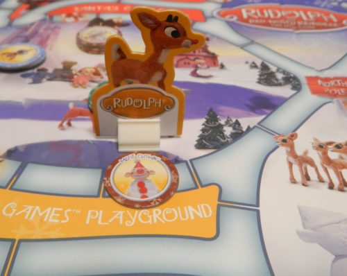Toy Space in Rudolph The Red-Nosed Reindeer DVD Game