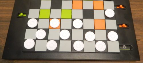 Movement in Trapdoor Checkers