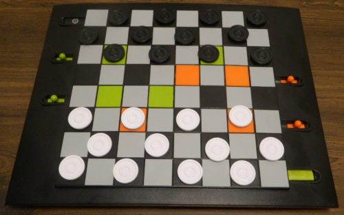 Setup for Trapdoor Checkers