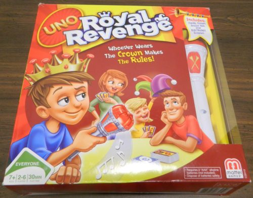 Box for UNO Royal Revenge