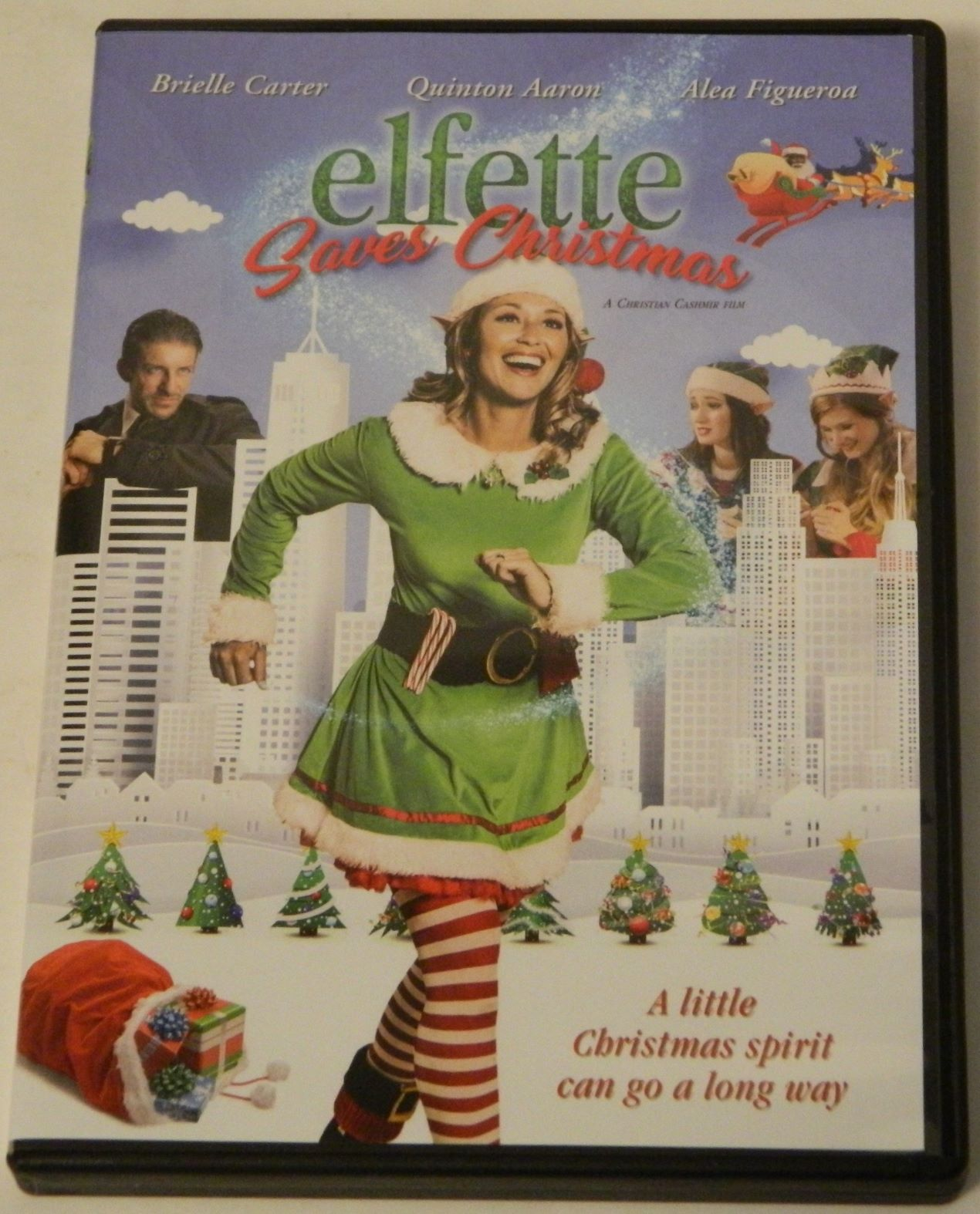 Elfette Saves Christmas DVD