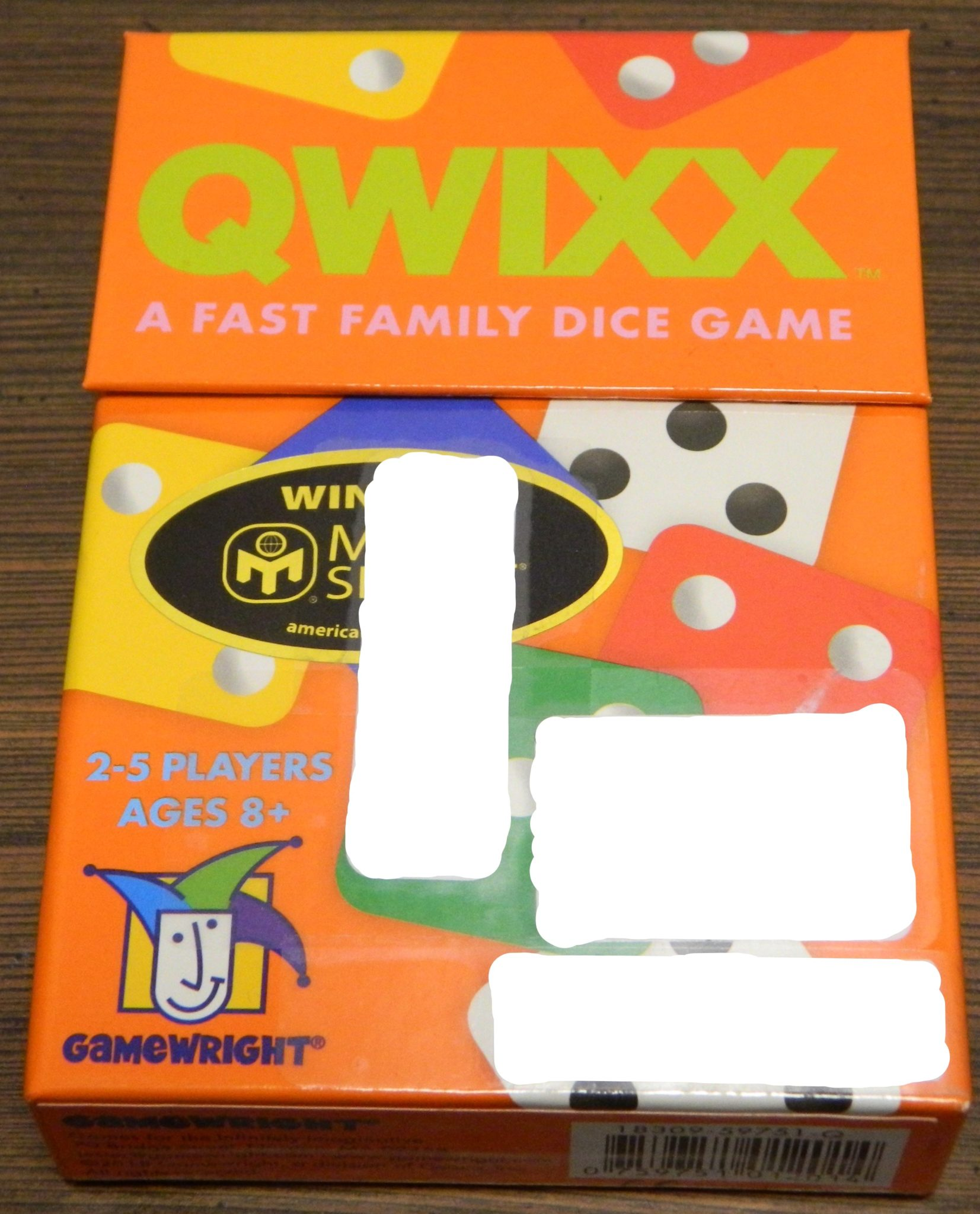 Box for Qwixx