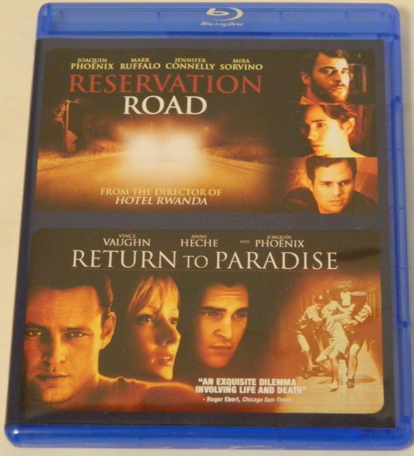 Reservation Road Return to Paradise Double Feature Blu-ray
