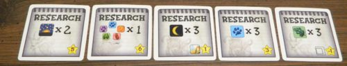 Research Tiles Scoring in String Safari