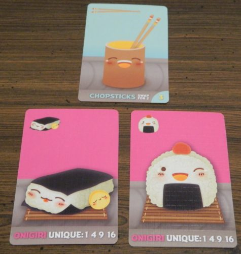 Chopsticks Example in Sushi Go Party!