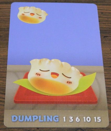 Dumpling Card in Sushi Go Party!
