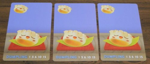 Dumpling Example in Sushi Go Party!