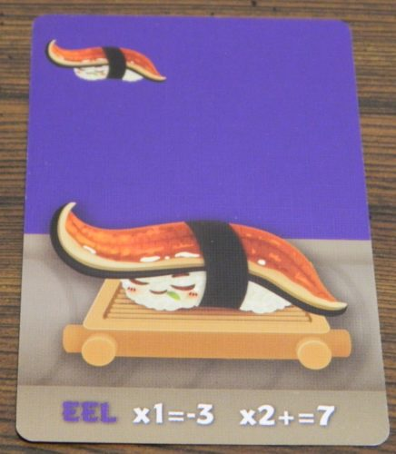 Eel Card in Sushi Go Party!