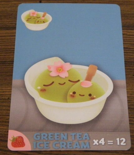 Green Tea Ice Cream Card in Sushi Go Party!