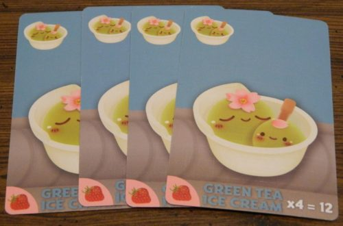 Green Tea Ice Cream Example in Sushi Go Party!