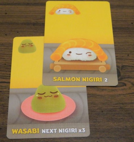 Nigiri Example in Sushi Go Party!