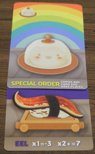 Special Order Example in Sushi Go Party!