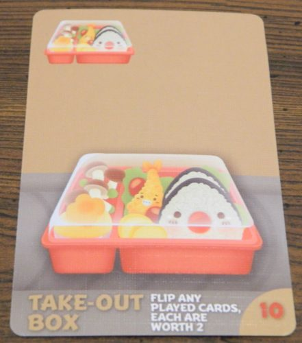 Take-Out Box Card in Sushi Go Party!