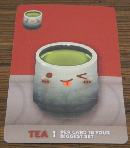 Tea Card in Sushi Go Party!