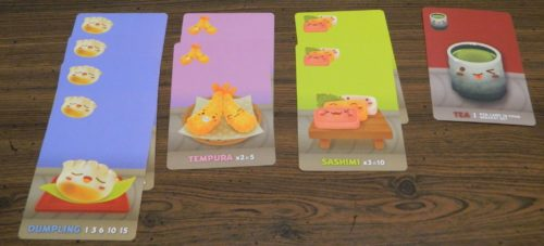 Tea Example in Sushi Go Party!