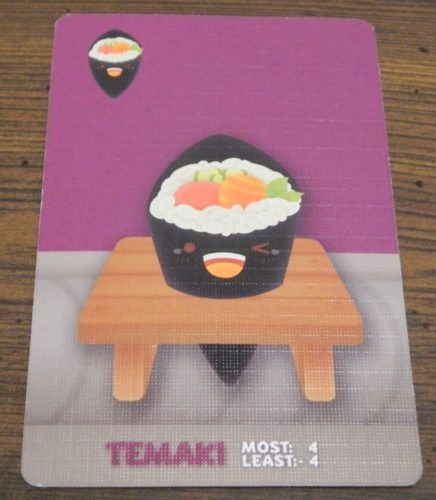 Temaki Card in Sushi Go Party!