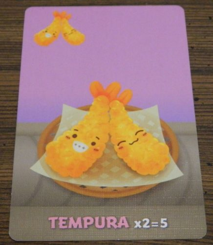Tempura Card in Sushi Go Party!