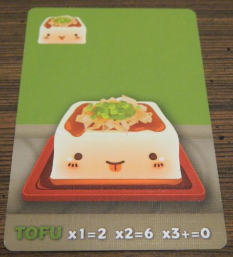 Tofu Card in Sushi Go Party!