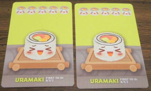Uramaki Example in Sushi Go Party!