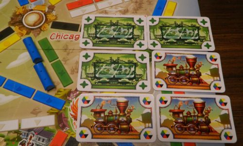 Claiming A Route in Ticket to Ride First Journey